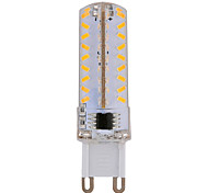 1 pcs E14 / G9 / G4 7W 72 SMD 3014 630 LM Warm White / Cool White B Dimmable Corn Bulbs AC 220-240 V
