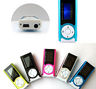 8G Mini  Slim Clip USB MP3 Music Media Player LCD Screen