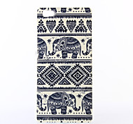 elefante padrão TPU macio para múltiplos Huawei P8 / p8 Lite
