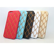 3D Embroidery Stent Holster Mobile Phone for iPhone6Splus Assorted Color