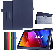 Dengpin PU Leather Litchi Texture with Stand Cover Case Skin for Asus Zenpad 10 Z300c (Assorted Colors)