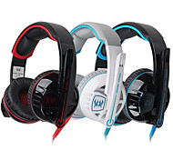 G6000 HIFI With Microphone Gaming Wired Headphones  Volume Control Glare Earphones  Noise Cancelling Surround Earphones