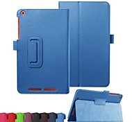 Flip Case Folding Leather Case Fashion PU Tablet Computer Protection Shell for Acer B1-820 Assorted Colors