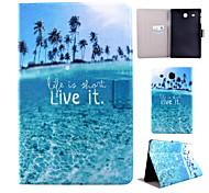 geschilderde beugel tablet pc case voor de Galaxy Tab 9.6 e / a 9.7 / 4 10,1 / a 8.0 / 4 8.0 / 8.4 s / s 10,5 / 3 10.1