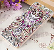 TPU Slim Flowers Peacock Oowl Mobile Phone Soft Shell for iPhone6/iPhone 6s(Assorted Colors)