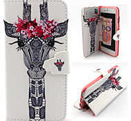 Luxury PU Leather Full Body Cases Phone Shell with Card Bag for iPhone 4/4S
