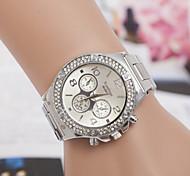 Men's  Watch Swiss Quartz Alloy Diamond Watches Fashion Steel Watch