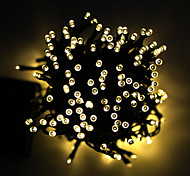 King Ro 12M 100LED 2Mode Solar String Lights Christmas Wedding Party Decor Lights