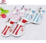 Socken & Schuhe für Hunde / Katzen Frühling/Herbst Hochzeit / Cosplay XS / S / M / L / XL Baumwolle / PU Leder