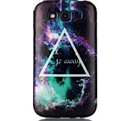 For Samsung Galaxy Case Pattern Case Back Cover Case Geometric Pattern TPU Samsung Grand Neo