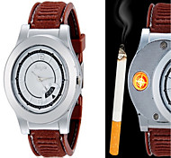 Huayue Watch Design Creative Usb Electronic Cigarette Lighter With Date Fuction