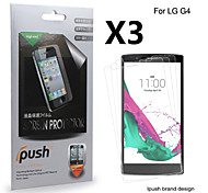 Ipush High Transparency Matte LCD Screen Protector for LG G4 (3 Pieces)