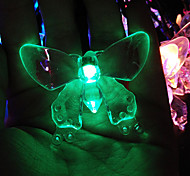 King Ro Solar Outdoor String Lights 19.7ft 30 LED Crystal Butterfly Solar Powered Holiday Lights