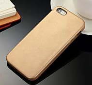 Original Genuine Leather Back Cover Case for iPhone 5/5S