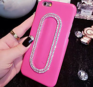LADY®Elegant/Personality Phone Case/Cover for iphone 6/6s(4.7), Decorated with Leather and Diamond, More Colors