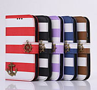 PU Following From Matching Color Stripe and Fashionable Mobile Phone Sets for iphone 5S/5 Assorted Color