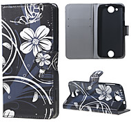 Beautiful Flowers Wallet Leather Stand Case for Acer Liquid Jade Z