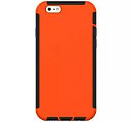 doble protección múltiples colores trasera para el iPhone 6 6s / iphone