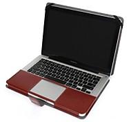 para el macbook Apple Pro de 13 pulgadas estuche rígido del tirón caso folio caso caja de cuero de la PU de 15 pulgadas para MacBook Pro