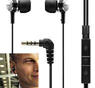 Original C260R HiFi In-ear Headphone Noise Isolation Bass stereo Sport fashion earphone & Mic for Iphone 6 / 6Plus
