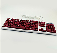 Colorful Backlight Light Game Waterproof Mute Notebook Desktop USB Wired Keyboard
