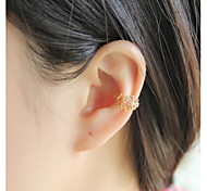 Women's Fashion Crystal Pearl Ear Clip