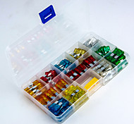 120pcs 5A / 10A / 15A / 20A / 25A / 30A Blade Fuses Set Car Fuse for Car Vehicle - Size M + Size S