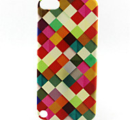 Lattice Painting Pattern TPU Soft Case for iPod Touch 5