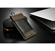 CASEME Fashion New Universal PU Leather Outdoor Waist Hang Wallet Mobile Phone Case Cover Belt Clip for iPhone 5/5S