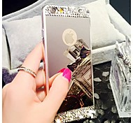 High Quality Mirrored with Diamond Back Cover for iPhone 6