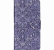 Finger Buckle Painted PU Phone Case for Huawei P8 Lite