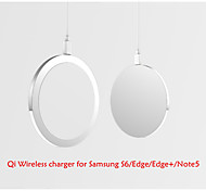 W6 Qi Wireless Charger for Samsung S6/edge/edge+/Note5/Nesux5/6 and  Built-in Qi Wireless Charging Receiver Smart Phone