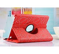 New Arrival Fashion Flower 360 Rotate Pu leather Case Cover Auto Sleep/Wake Up for ipad Mini 3/2/1