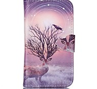The Magpie Pattern Full Body Cover with Card Slot for GALAXY CORE Prime