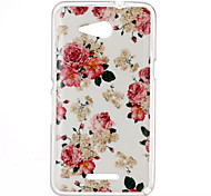 Rose Pattern TPU Phone Case for Sony Xperia E4G