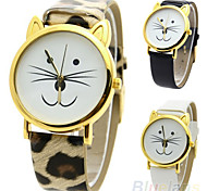 Women's Cute Cat Style Quartz Casual Watch Cool Watches Unique Watches Fashion Watch