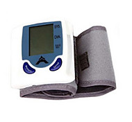 New Wrist Cuff LCD Digital Blood Pressure Pulse Monitor