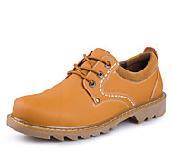Hot Sale Bigs Size 38-47 Men's Shoes Outdoor / Athletic / Casual Boots Brown / Yellow