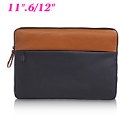 "Business Laptop Sleeve Bag Soft Canvas Shockproof Notebook Cover Case for Dell/Apple iPad/Macbook Pro Air 11.6""/12"""