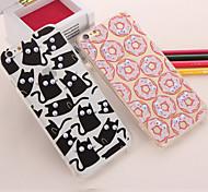 iphone 7 plus popcorn donut acrylique tpu emballage cas pour iphone 5 / 5s