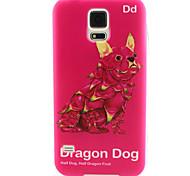patrón de pintura del perro dragón TPU caso suave para el mini mini mini s4 / samsung galaxy s3 / s5