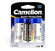 Camelion Super Heavy Duty Primary Batteries Size D (2pcs)