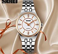 SKMEI® Women's Luxury Diamond Elegant Quartz Wrist Watch Stainless Steel