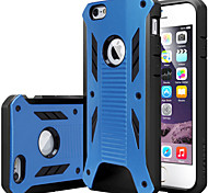Rugged Armor Dual Layer PC+TPU Hybird Anti- shock case cover For iPhone 6 /6S (Assorted Color)