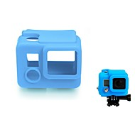 Soft Rubber Silicone Protective Housing Case Silicone Cover Protector Skin for Gopro Hero4