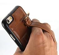 main boucle nouveau style PU pour cas de téléphone portable pour l'iphone 6 plus