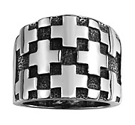 Ring Jewelry Stainless Steel Fashion Black Jewelry Halloween Daily Casual 1pc
