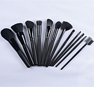 2015 Hotsale 12pcs Professional Makeup Brush Set High Quality Cosmetic Tool