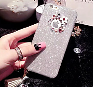 LADY®Elegant/Personality Phone Case/Cover for iphone 6/6s(4.7), Decorated with Diamond and Silicone Meterial Phone Case