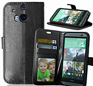 Multicolor PU Leather Phone Case For HTC M8/ M9 (Assorted Colors)